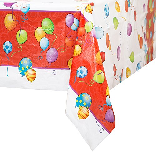 K Themed Party Costume Ideas (Balloons Birthday Plastic Tablecloth, 84