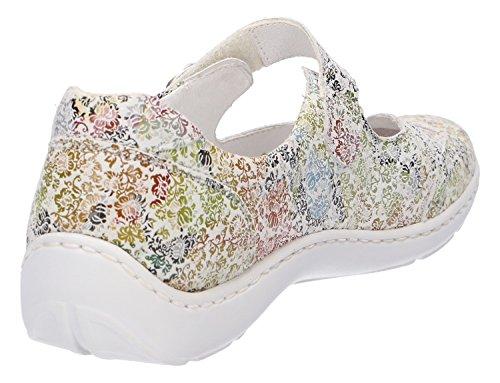 Waldläufer Women's 148 177 Flats Multicoloured Ballet 496309 OgHrng