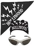 Hollywood Hulk Hogan nWo Bandana White Sunglasses Costume