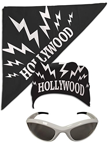 Hollywood Hulk Hogan nWo Bandana White Sunglasses Costume ()