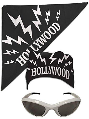 Hollywood Hulk Hogan nWo Bandana White Sunglasses Costume by TNA