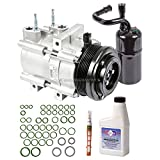 New Genuine OEM AC Compressor & Clutch + A/C Repair Kit For Ford Lincoln Merc - BuyAutoParts 60-83636RN New