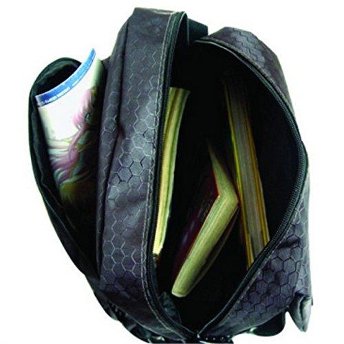 rare Schultertasche Tasche Shoulder Bag Rucksack reisetaschen Braun Bräunen One Piece new