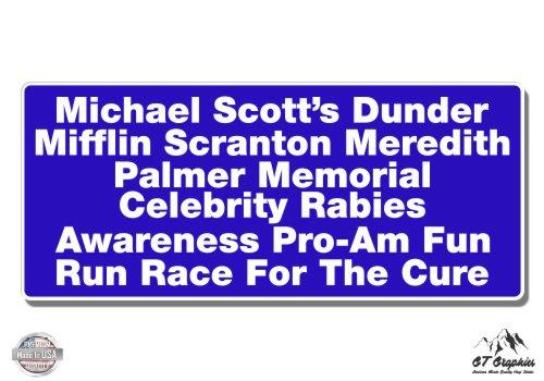 Scott Memorial - The Office Michael Scott Dunder Mifflin Fun Run - 12