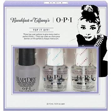 Amazon.com: OPI Breakfast at Tiffany s Tratamiento Trio ...