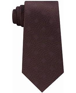 7edc517c725b Michael Kors Men's Sapphire Solid II Tie, Black, Regular at Amazon ...