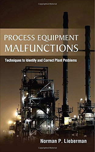 Process Equipment Malfunctions: Techniques to Identify and Correct Plant Problems by Norman P. Lieberman (1-Aug-2011) Hardcover