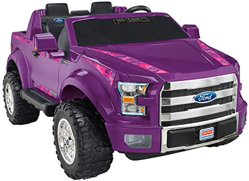 Power Wheels Ford F-150, Purple Camo (Wheels Ford F150 Power)