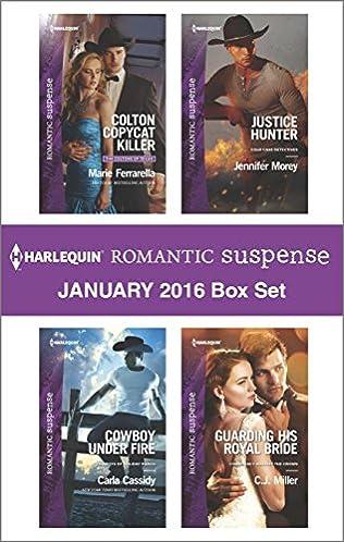 book cover of Harlequin Romantic Suspense January 2016 Box Set