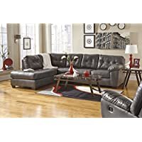 Ashley 20102-16-67 Alliston Sectional Sofa with Left Arm Facing Corner Chaise and Right Arm Facing Sofa in