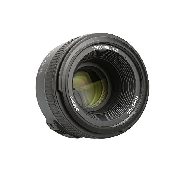 RetinaPix Yongnuo 50mm F1.8 Lens for Nikon DSLR Camera Large Aperture Auto Focus Lens as Nikon AF-S 50mm 1.8G