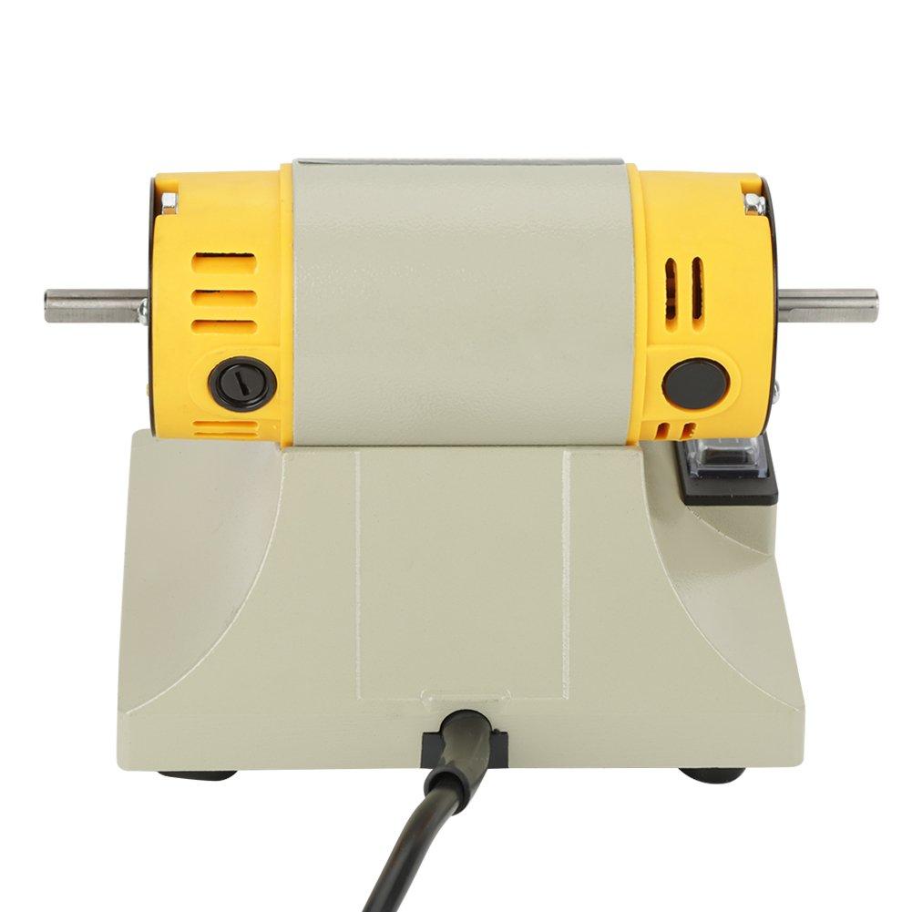 m/áquina de pulido de amoladora el/éctrica duradera 0-10000r M/áquina de pulido de torno min para joyer/ía Motor de torno dental 220V 350W 16 x 13 x12.5cm para banco de trabajo