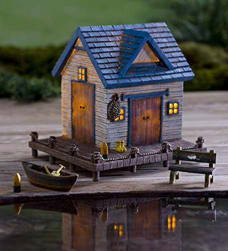 Miniature Fairy Garden Solar House