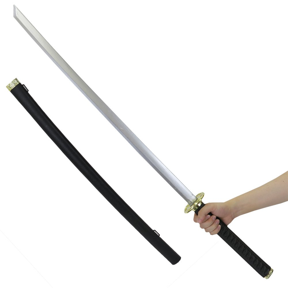 Uniton 41'' Long Japanese Katana Sword, Plastic Toy - Samurai Swordplay for Epic Battles! - Costume Accessory