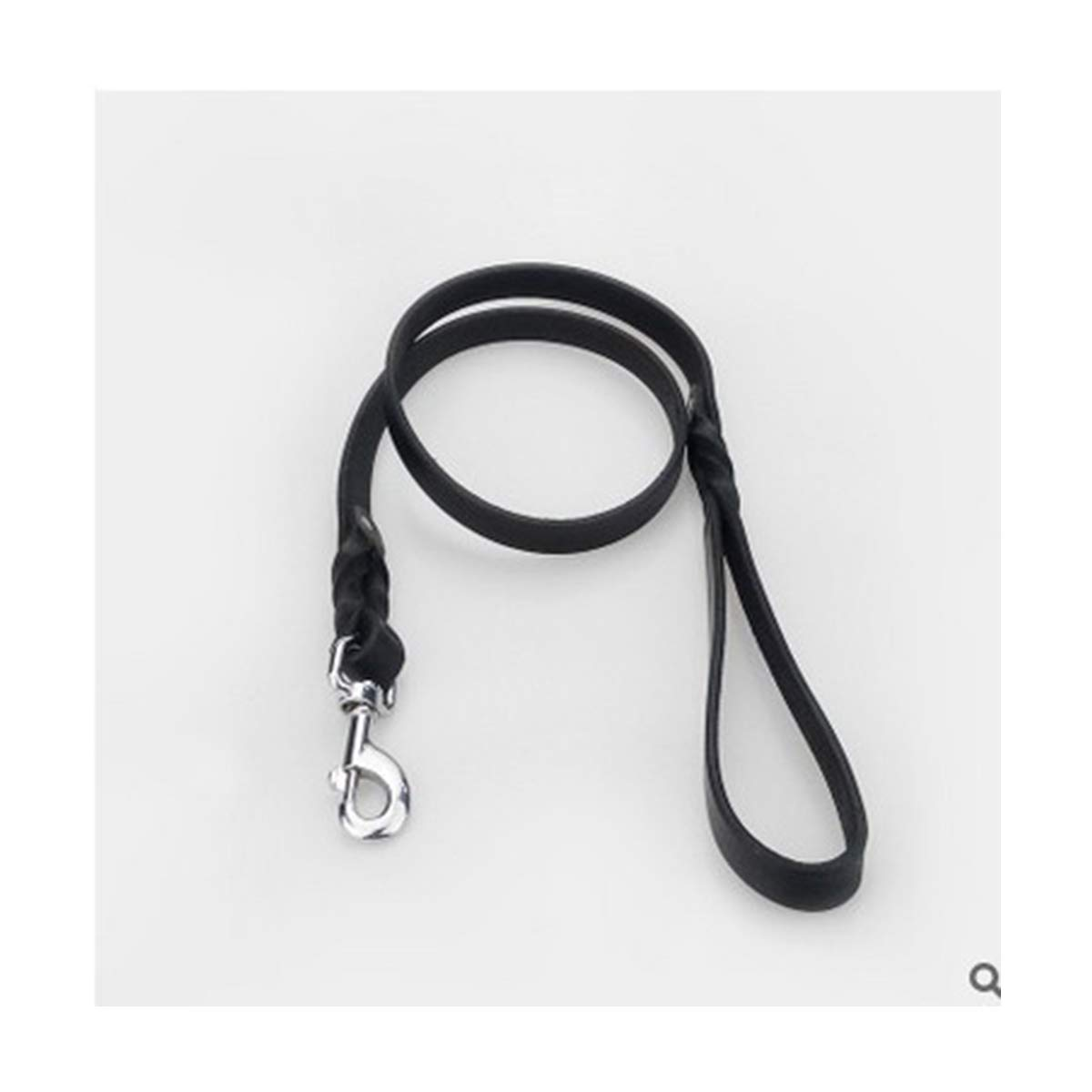 Large Dog Training Leash Rope Leather Material 120 cm Dog Chain Durable Safe, Suitable for Medium and Large Dogs