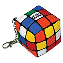 Toy Vault TV22004 Toy Vault Rubik's Cube Plush Keychain
