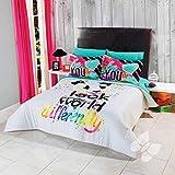 Panda Bear Pets Teens Comforter TWIN Sheets Decoration Room Kids 5PC Juniors White