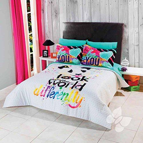 Panda Bear Pets Teens Comforter TWIN Sheets Decoration Ro...