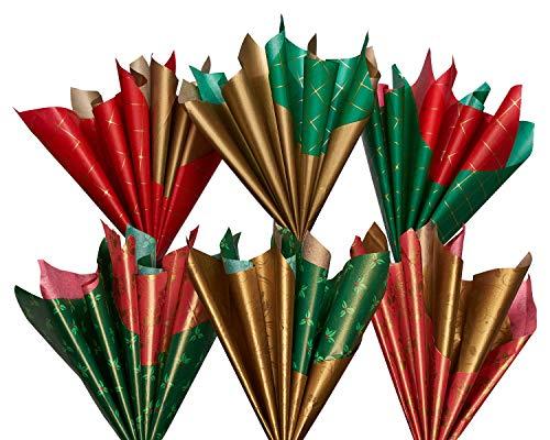 Papyrus Tissue Paper, Christmas Bundle (18-Count)
