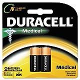Coppertop Alkaline Medical Battery, N, 1.5V, 2/Pack