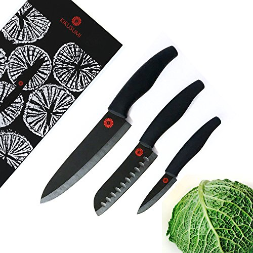 Kikusumi 3 Piece Chef Knife Set