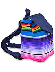 Handmade Mini Backpack Made From Serape Blanket