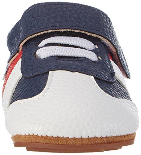 Rose & Chocolat Navy Runnerz - Zapatillas de casa Bebé-Niñas azul (navy)
