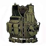 LUOSI Gilets Tactiques Équipement Tactique Gilet De Chasse Gilet Militaire Combat Plastron 6