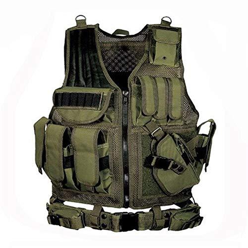 LUOSI Gilets Tactiques Équipement Tactique Gilet De Chasse Gilet Militaire Combat Plastron 1