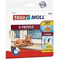 TESA 05393-00100-00 05393-00100-00-Burlete de caucho perfil Dpara desajustes