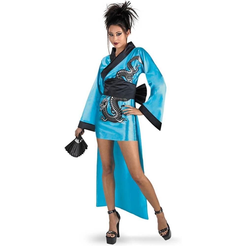Amazon.com: Disguise Women's Dragon Geisha Costume: Clothing