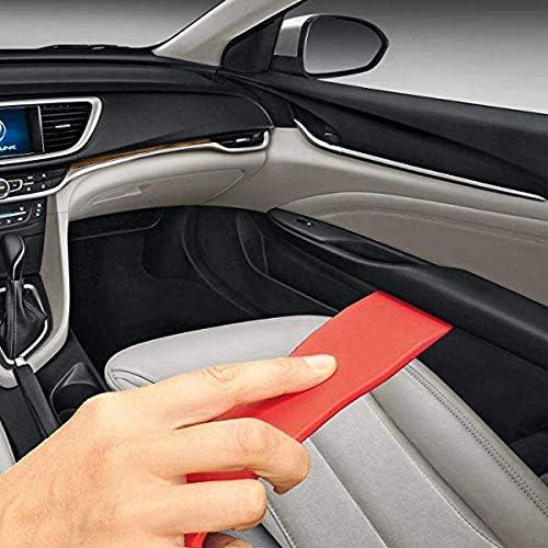 Dash Door Panel Window Molding Fastener Remover Tool Kit Set-Red Strong Nylon Tool Kits for Car Radio Installation EEM 13 PCS Auto Trim Removal Kits