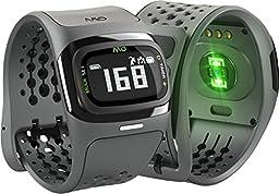 Mio ALPHA 2 Heart Rate Watch + Activity Tracker, Regular/Long Strap, black