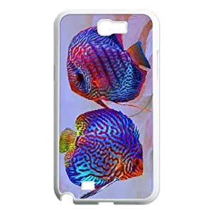 Colorful fish ZLB607305 Customized Phone Case for Samsung Galaxy Note 2 N7100, Samsung Galaxy Note 2 N7100 Case