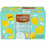Country Time Sparkling Lemonade (6.75fl.oz Bottles, Pack of 8)