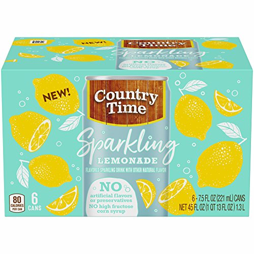 Country Time Sparkling Lemonade (6.75fl.oz Bottles, Pack of 8)