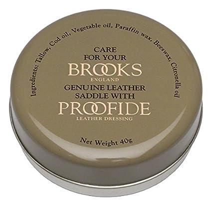9ea9c44e3ac Amazon.com : Brooks Proofide Saddle Dressing 40g : Bike Saddles And Seats :  Sports & Outdoors