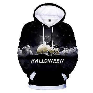 KLKL para Halloween Sudaderas con Capucha 3D Sudaderas Hombres ...