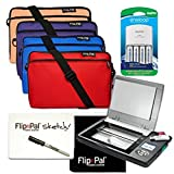 The Flip-Pal mobile scanner enables you to effortlessly collect precious photos, important documents, large and fragile records of personal and family history, detailed coins, jewelry, medals, hand-drawn art, and other keepsakes. Now they can...