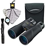 Nikon PROSTAFF 5 10x50 Binoculars (7572) Bundle with Nikon Carrying Case, Lens Pen