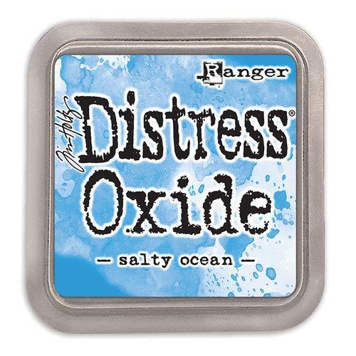 Ranger Tim Holtz Distress Oxides Ink Pads Salty Ocean (12 Pack)