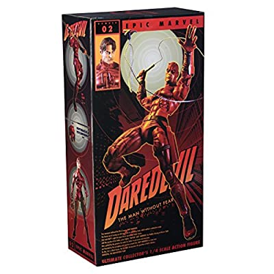 NECA - Marvel - 1/4 Scale Action Figure - Daredevil: Toys & Games