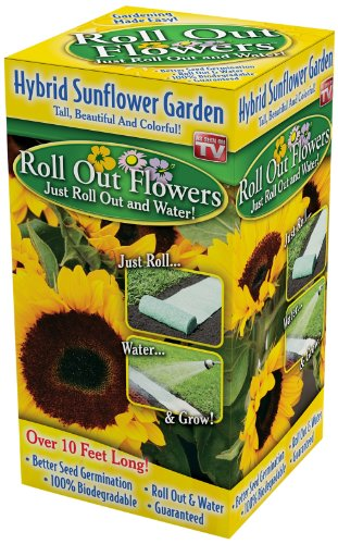 Roll Out Flowers Sunflower Garden Seed