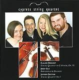 : Cypress String Quartet: Debussy, Suk, Cotton