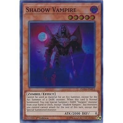 Shadow Vampire - DASA-EN012 - Super Rare - 1st Edition: Toys & Games