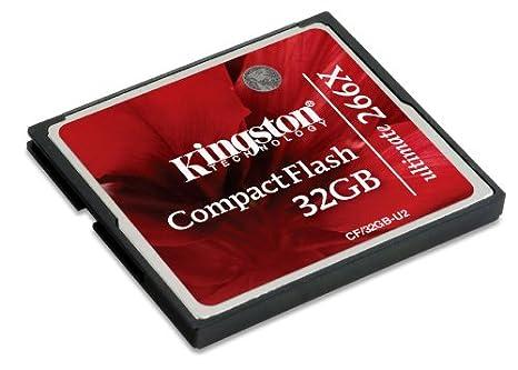 Kingston CF/8GB - Tarjeta de Memoria CompactFlash de 8 GB, estándar