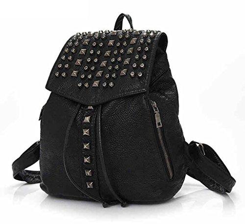 Shoulder Bag Female / Fashion Rivet Backpack
