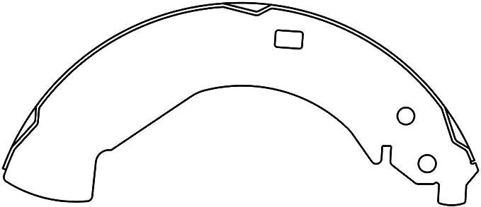 Drum Brake Shoe-C-TEK Brake Shoes Rear Centric 110.04730