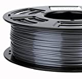 Stronghero3d 1.75mm PLA 3D Printer Filament Metal GREY- 1kg Spool (2.2 lbs) - Dimensional Accuracy +/- 0.03mm