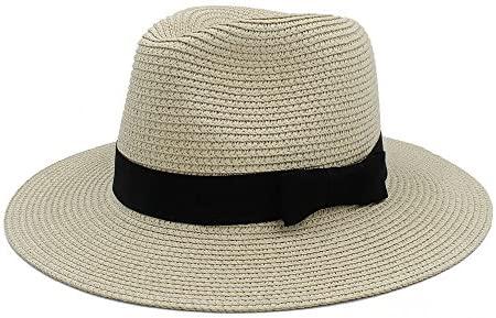YuLinStyle Toquilla Sombrero de Paja para Dama Elegante Sombrero ...